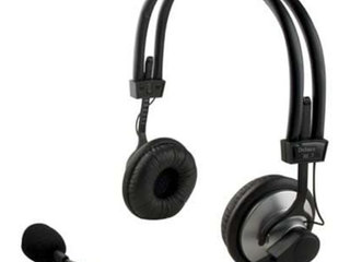 DELTACO Headset HL-7 - Sort