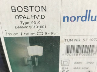 Nordlux Boston lampe