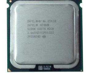 Intel Xeon CPU E5430 2.66 GHz.