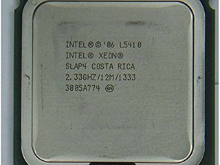 Intel Xeon CPU L5410 2.33 GHz.