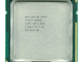 Intel Xeon CPU L5520 2.26 GHz.