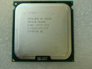 Intel Xeon CPU X5260 3.33 GHz.