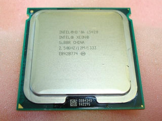 Intel Xeon CPU L5420 2.50 GHz.