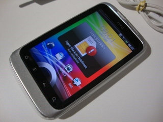 """hTC Wildfire S A510e smartphone med 3,2"""" touch"""