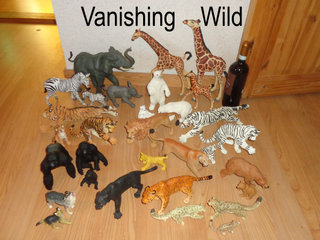 Vanishing Wild safari dyr