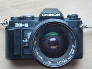 Sort Chinon CE-5 m 35-70mm zoom