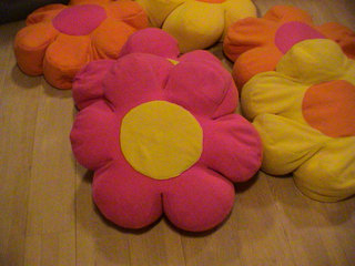 Sækkestol Flower Power model