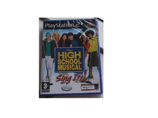 High School Musical Sing It inkl Manual