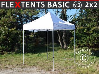 Foldetelt FleXtents Easy up pavillon Basic v.2, 2x