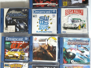 DreamCast Games from the past
