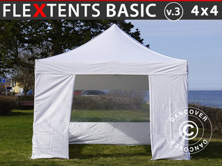 Foldetelt FleXtents Easy up pavillon Basic v.3, 4x