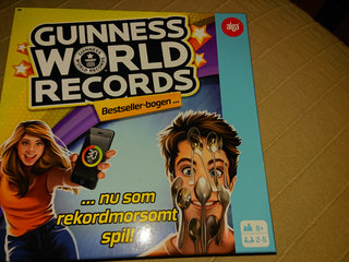 Guinness world records spil