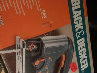 Black Decker stiksav 450 w KS 656 PE