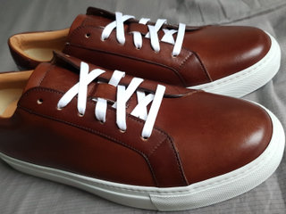 Ace Marks The Duke Brown-White Sole