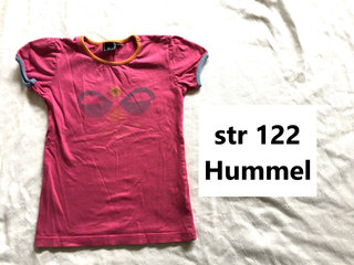 596) str 122 Hummel t-shirt