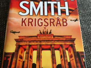 Wilbur Smith, som ny, krigsråb
