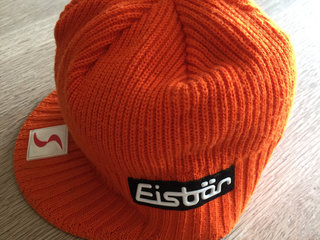 Eisbär Cap, orange uld