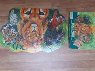Big Cat Floor puzzle