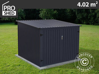 Cykelskur 2,03x1,98x1,57m ProShed®, Antracit