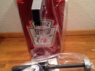 Heinz ketchup dispenser