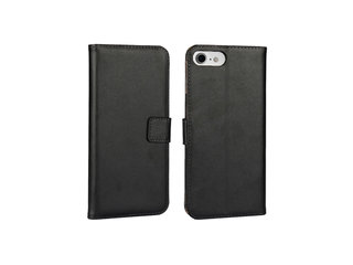 Cover Apple iPhone 7/8 PU - Sort