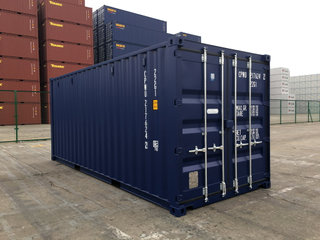 20'DC Ny container RAL 5013 ab Aarhus