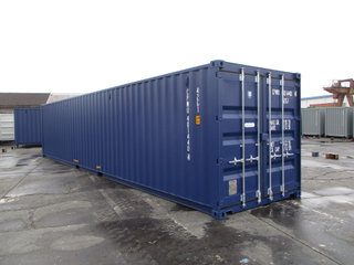 40'DC Ny container RAL 5013 ab Aarhus