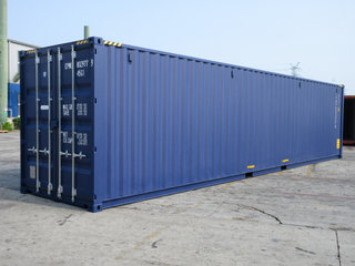 40'HC Ny container RAL 5013 ab Aarhus
