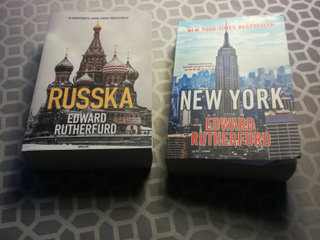 Edward Rutherfurd: -  New York og Russka