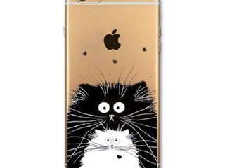 Silikone cover med kat alle iPhone