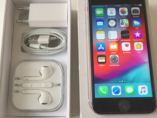 Iphone 6 Spacegrey 128 GB. Super flot.