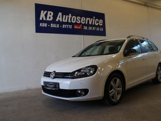 VW Golf VI 1,6 TDi 105 Match Variant DSG BMT