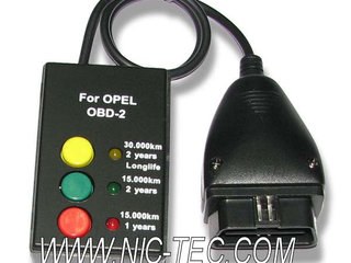 Opel Service Interval Reset OBD