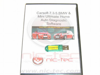 Carsoft BMW - Mini Ultimate Home 12 program