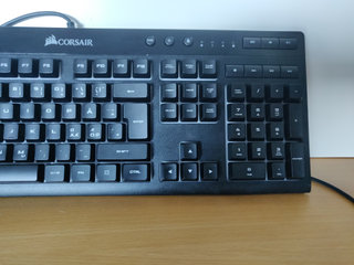 Corsair k55 perfekt til gaming