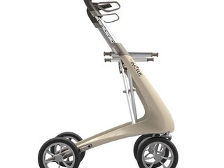Rollator - ByACRE Carbon Ultralight - Cremehvid - 4