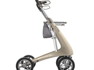 Rollator - ByACRE Carbon Ultralight - Cremehvid - 5