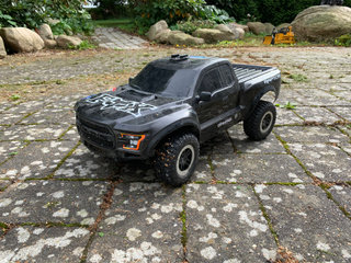 Traxxas slash 2wd brushless ford raptor