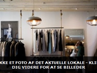 POP UP Butik / showroom m/god placering i Tilst