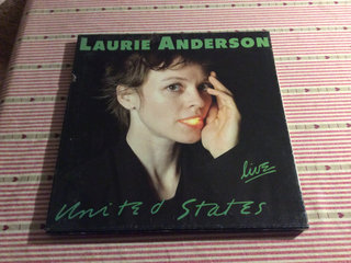 Laurie Anderson United States live 5db