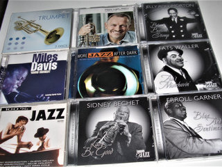 Fantastisk god ubrudt Jazz  CD samling