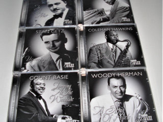 Fantastisk god  ubrudt Jazz CD samLing.