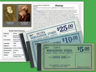 Norge * Svalbard * 3 x Coupon Books *