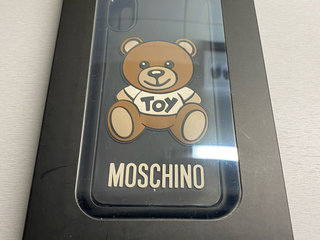 Moschino cover til iPhone X/XS