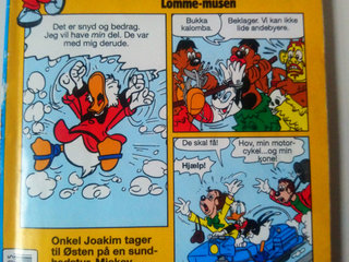 mickey mouse lomme-musen