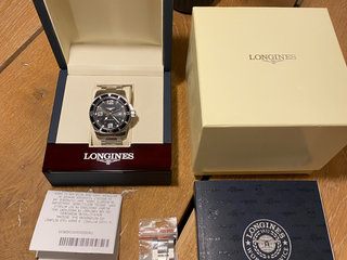 Longines Hydronquest 2018, 44mm