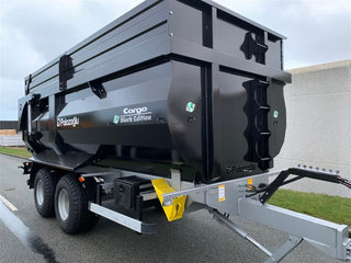 Palaz Trailers 15 Cargo 15 tons BLACK EDITION bagtipvogn