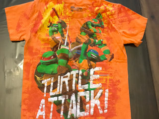 Ninja Turtles T-shirt str. 4