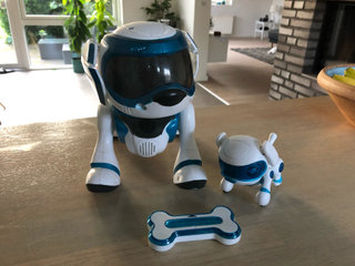 Teksta the robotic dog/puppy