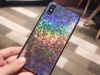 Holografisk cover iPhone X el XS